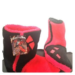 Harley Quinn boot sleepers